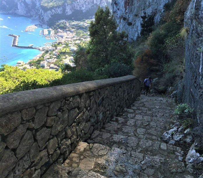stairs anacapri
