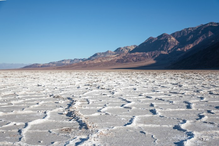 Bad Water Basin lowest point in North America