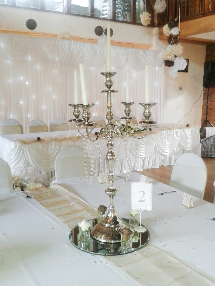 Silver Candelabras Beyond Expectations Weddings Amp Events