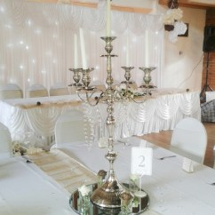 Used Wedding Chair Covers For Sale Uk Bistro Chairs Outdoor Silver Candelabras - Beyond Expectations Weddings & Events