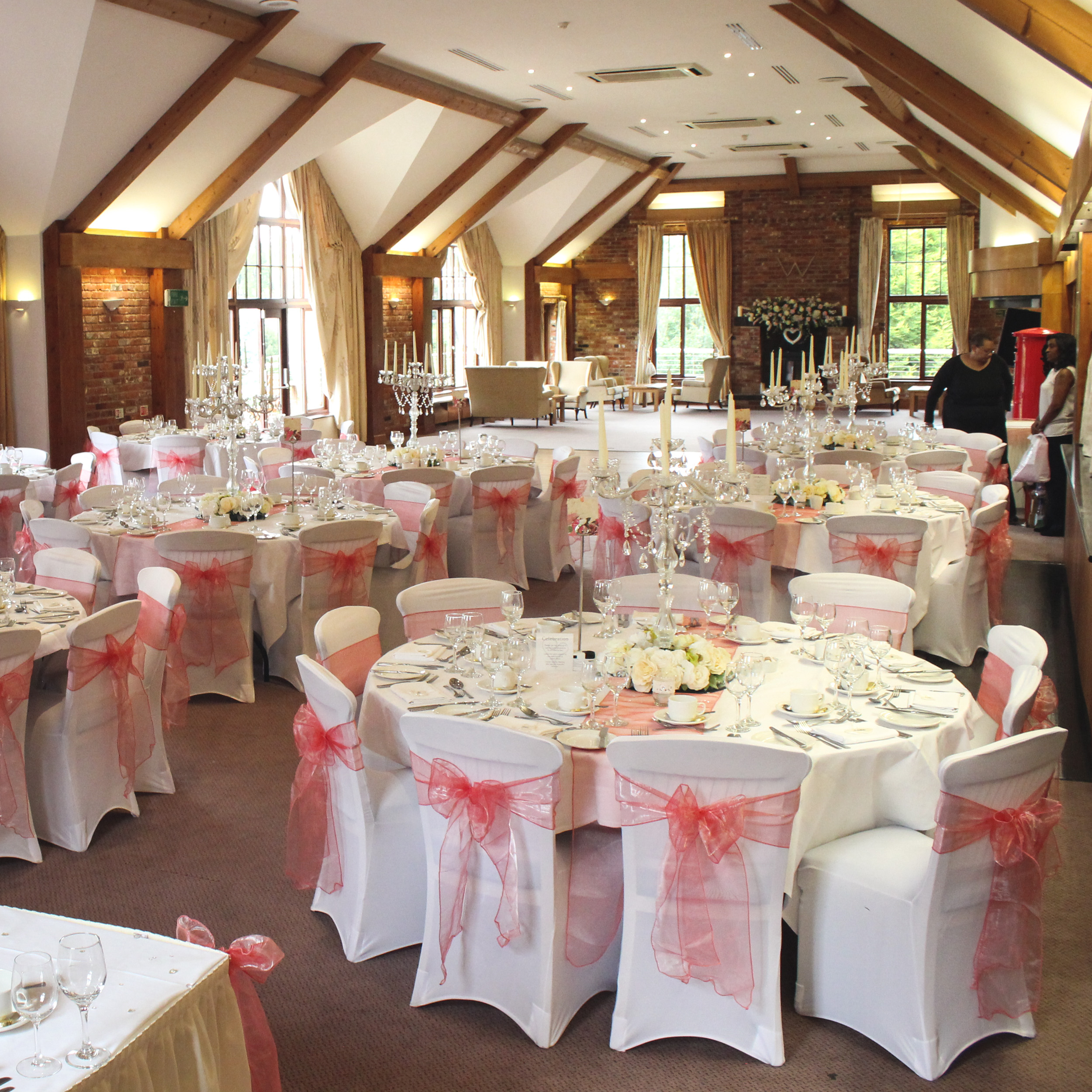 coral sashes for wedding chairs dining modern spandex fitted chair covers beyond expectations weddings