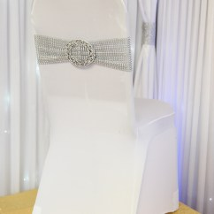 Silver Chair Covers Uk Been Bag Stretch Band And Buckle Beyond Expectations