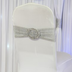 Silver Chair Covers Uk Craft Ideas Stretch Band And Buckle Beyond Expectations