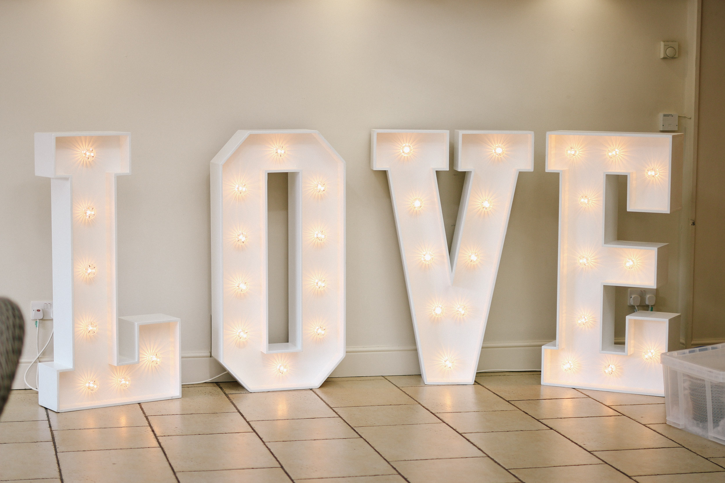 chair cover hire croydon cool outdoor folding chairs 4ft illuminated love sign beyond expectations weddings