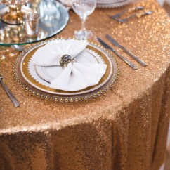 Gold Sequin Chair Covers Best Study Table Cloth Beyond Expectations Weddings