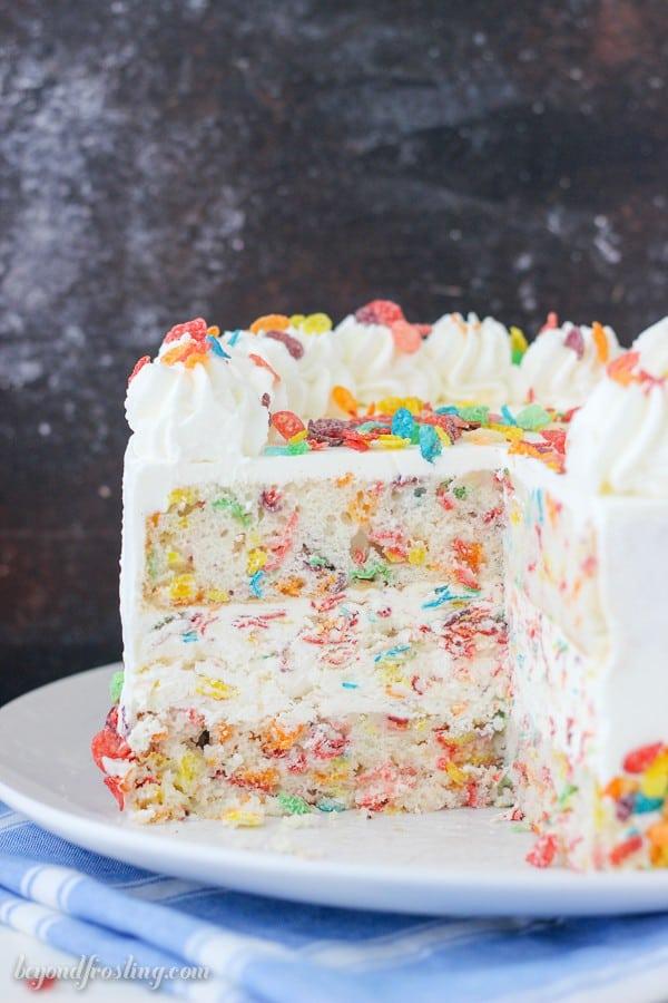 Fruity Pebbles Cake Recipe  Besto Blog