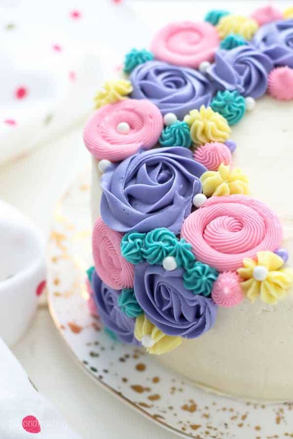 Buttercream Flower Cake Beyond Frosting