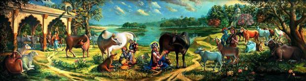 krishna-balaram-milking-cows-vrindavan-das