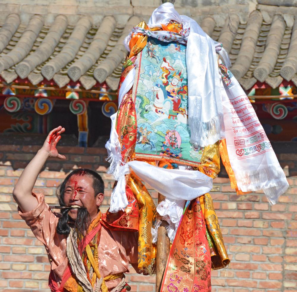 Amdo Tibetan 'Klu rol' Festival — Part I
