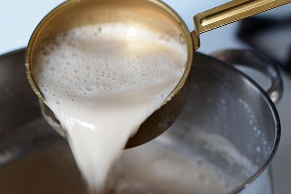 Tibetan milk tea, yak milk tea, tea