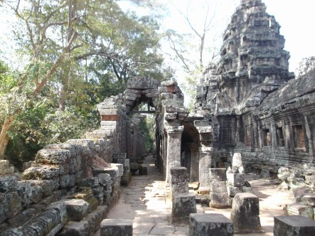 12. Banteay Kdei – this is the temple where Sam and I decided to speak in only Bahasa Indonesia to confuse all of the tourists and vendors around us.