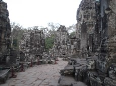 2. Bayon – this was the state temple of Angkor Thom and the first dedicated to the Buddha. The temple's most distinguishing feature is its 37 stunning face towers (there were originally 49).