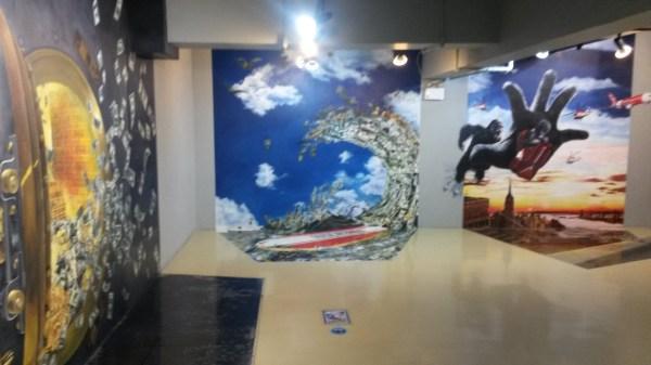 Bringing 3d Trick Eye Museum In Bangkok