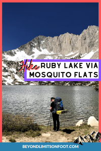 Ruby Lake via Mosquito Flats: John Muir Wilderness