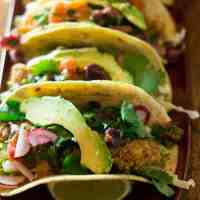 Fried Oyster Tacos with Citrus Salsa