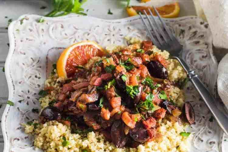 Baked Greek Fish With Citrus and Olives