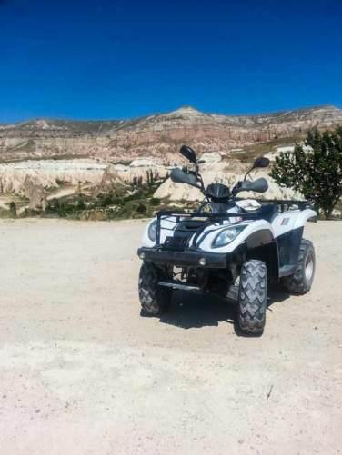 bike ride around cappadocia