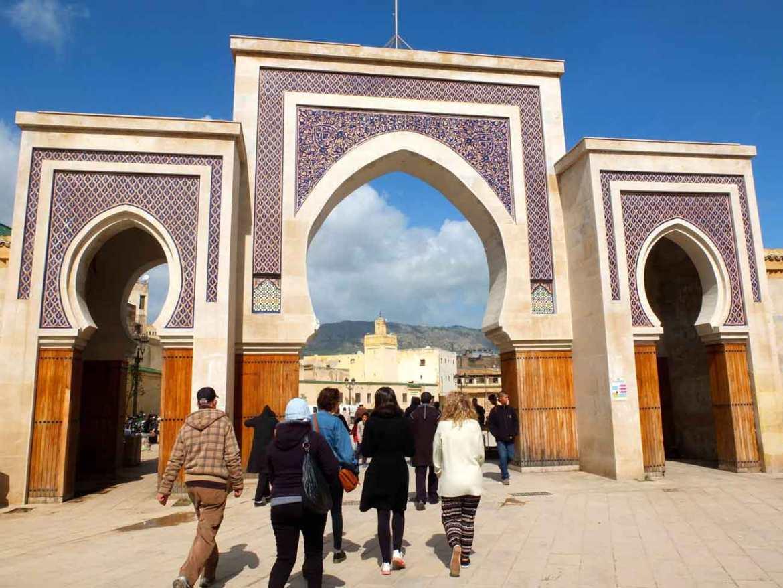 Bazaar in Fez, Morocco