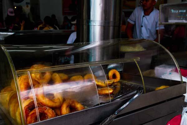 Street food in Medellin, Colombia