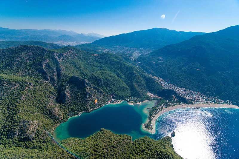 Oludeniz-Beach in Fethiye Turkey