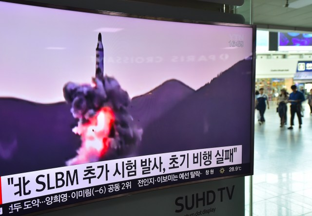North Korea Military Missile