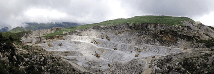 Surface mining (Foreign Trade, 2018.01.01)
