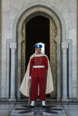 Guard at Mausoleum of Mohammed V