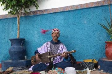 Musician in Kasbah les Oudaias