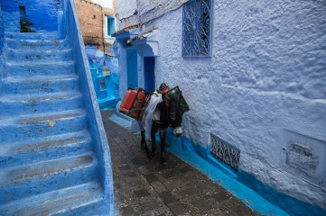 No Cars in Chefchaouen