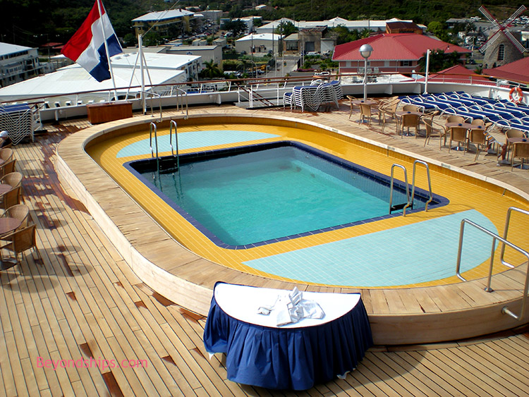 outdoor sports chairs pool deck holland america - statendam photo t our page 2