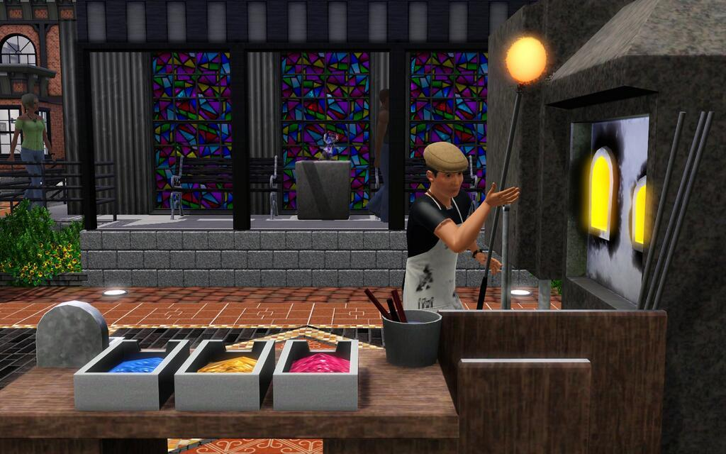 Sims 3 Store: Glass Blowing Premium Content Preview