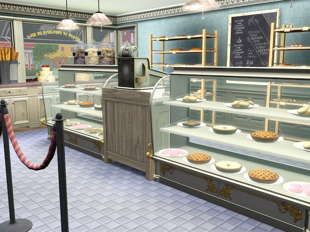 Sims 3 Store: Deliciously Indulgent Bakery – Coming April 2014!