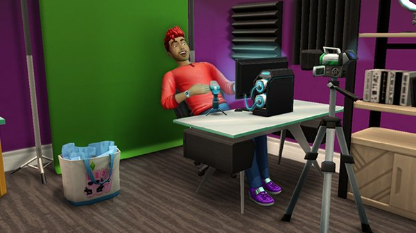 Internet Icon Hobby Brings Livestreaming to The Sims Mobile