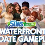 Waterfront Early Access Gameplay for The Sims Mobile