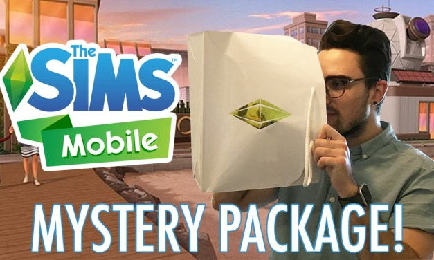 Mystery Package Unboxing from The Sims Mobile