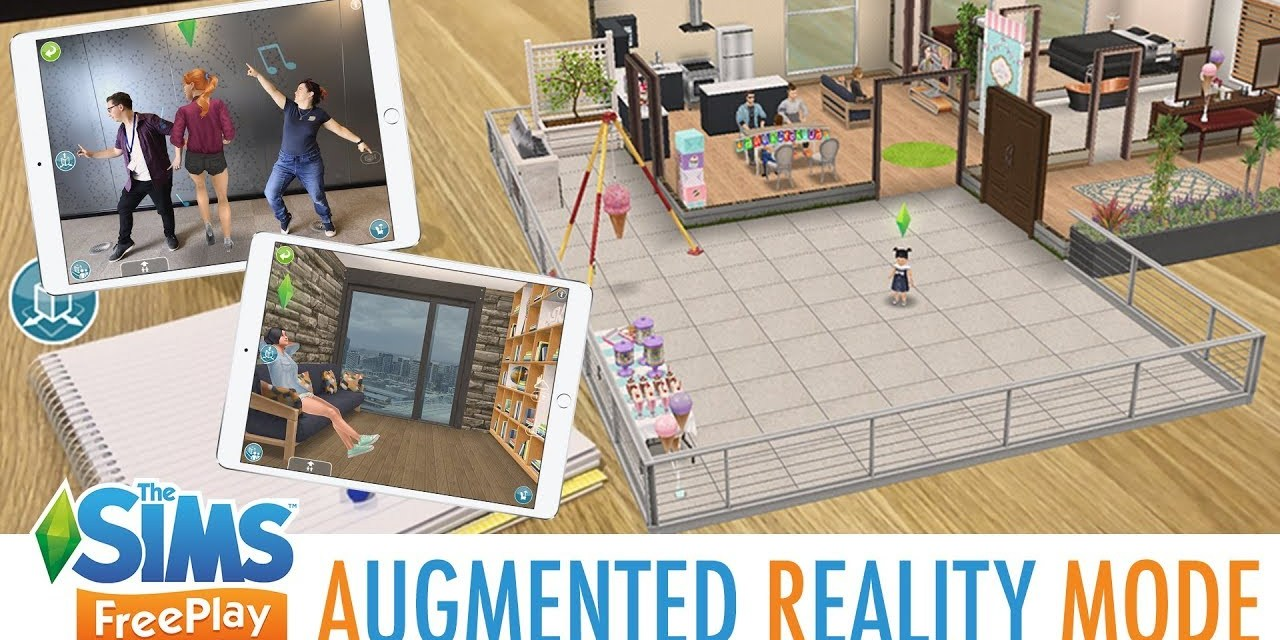 AR Mode in The Sims FreePlay Brings Your Sims into the Real World