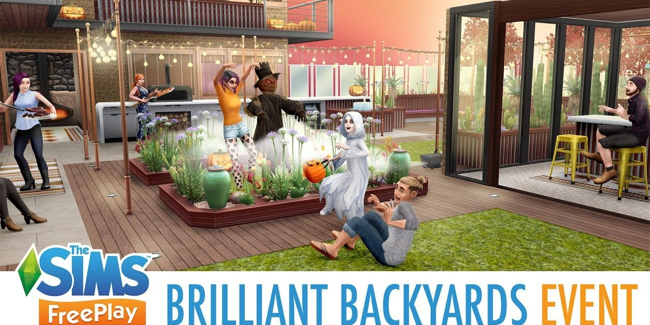 Brilliant Backyards Update Arrives for The Sims FreePlay