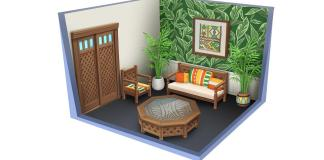 Caribbean Concept Art for The Sims 4