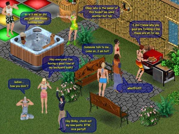 The Sims Online screenshot