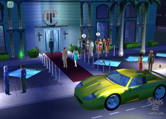 The Sims 2 Nightlife Screenshot