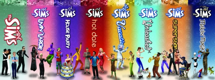 Sims 1 Mural from 2003