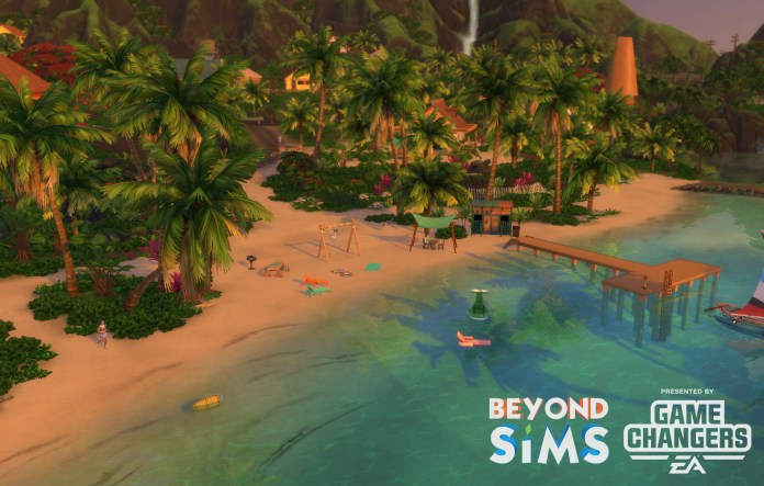 The world of Saluni in The Sims 4 Island Living