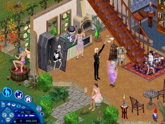 Sims 1 Makin Magic