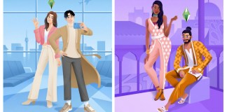 Sims 4 Fashion Street and Incheon Arrivals Kit