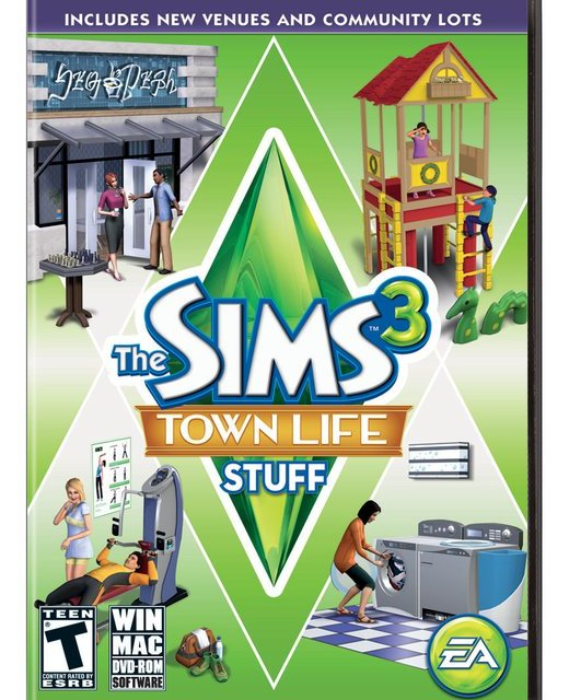 EA announces The Sims 3 Town Life Stuff (Info, Images & More)
