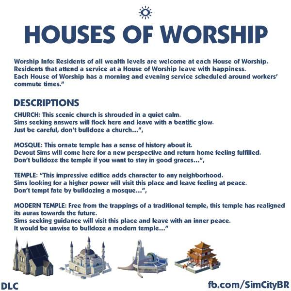House of Worship Descriptions