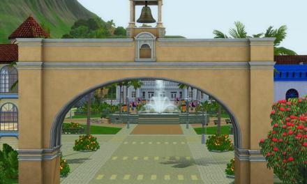 Isla Paradiso Town Square
