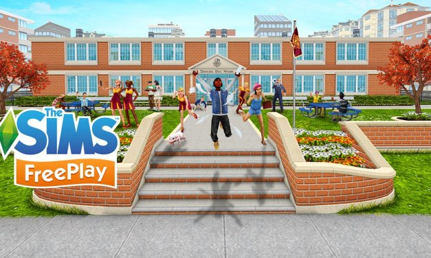 First Look at Downtown High Update for The Sims FreePlay