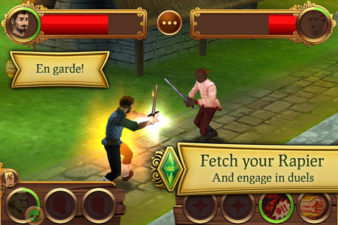 Les-Sims-Medieval-iphone-4