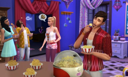 Simflix & Chill with The Sims 4 Movie Hangout Stuff, Arriving January 12th